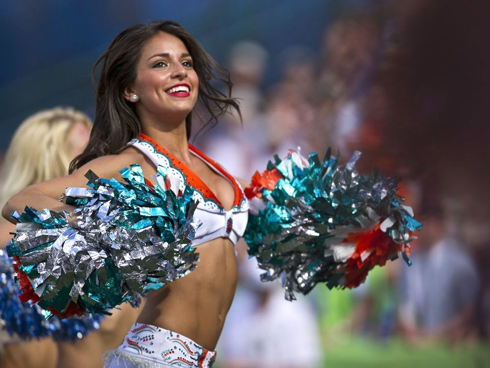 American Football Cheerleading